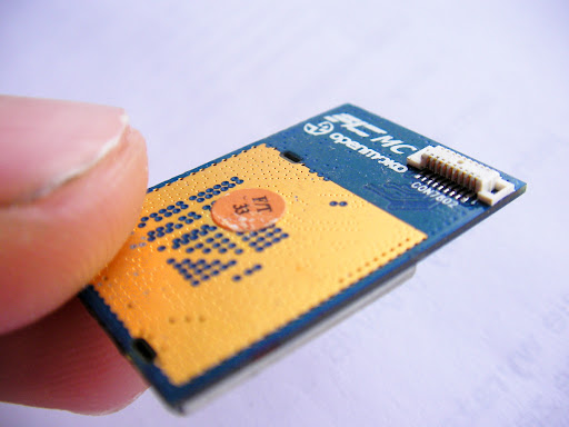 GTA02 WLAN card from Atheros
