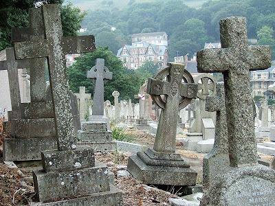 Cementerio en Ilfracombe