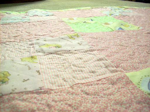 quilt at angle