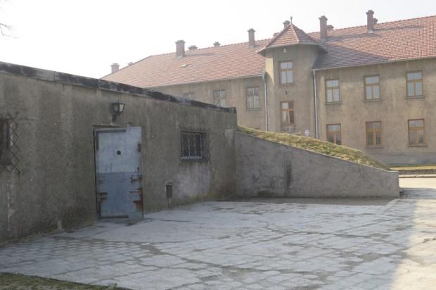 Der Eingang zur Gaskammer I