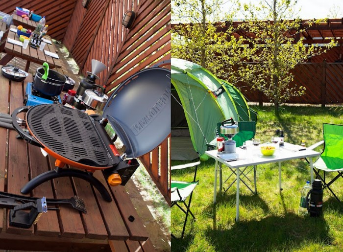 Camping Iceland's camping equipment