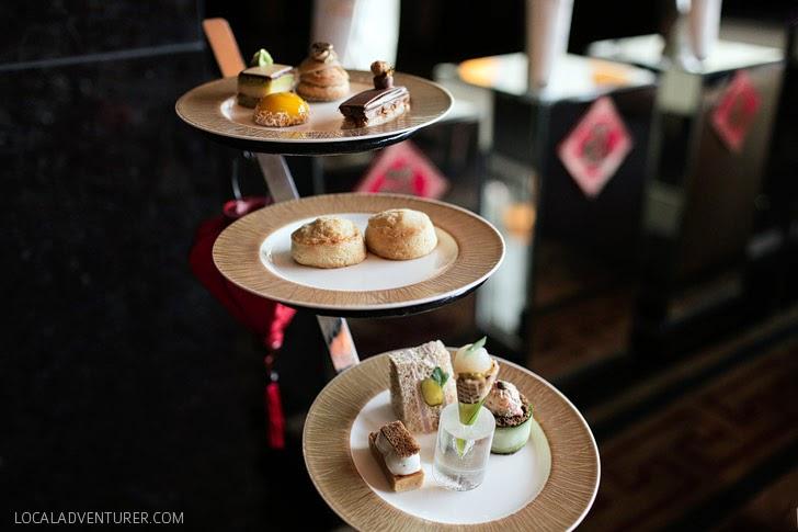 Afternoon Tea Mandarin Oriental Vegas.
