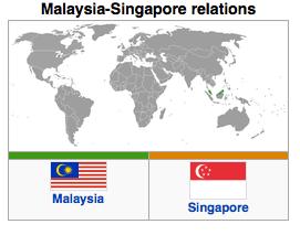 Malaysia - Singapore Relations