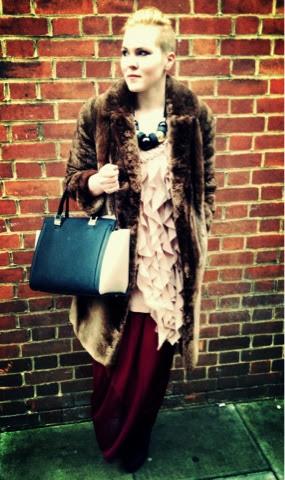 London Fashion Week Street style Look