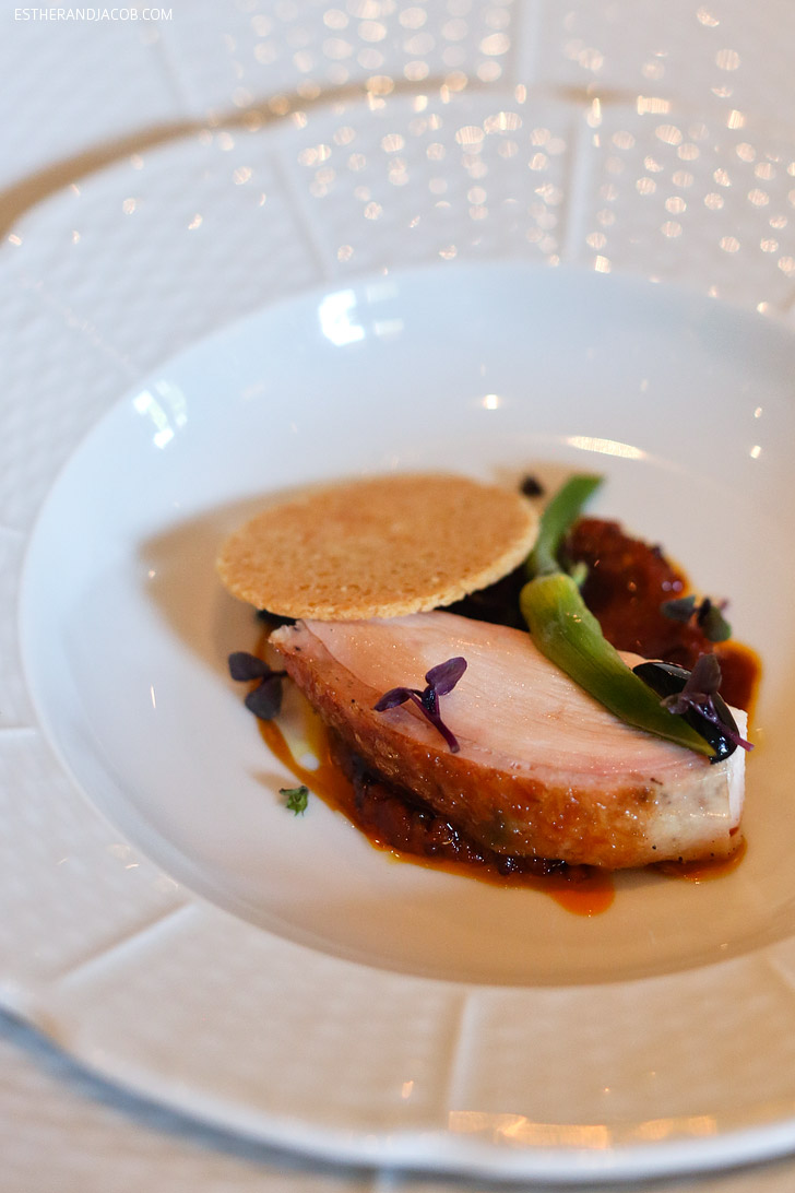 Herb-Roasted Four Story Hill Farm Poularde at The French Laundry Restaurant.