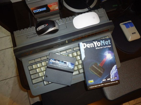 DenyoNet UNAPI compatible card