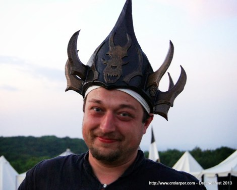 Me wearing Copper Imperator's crown