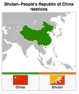 Bhutan - China Relations