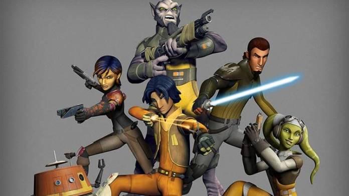 """Los protagonistas de """"Star Wars: Rebels"""""""