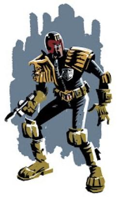Judge Dredd by Rob Davis