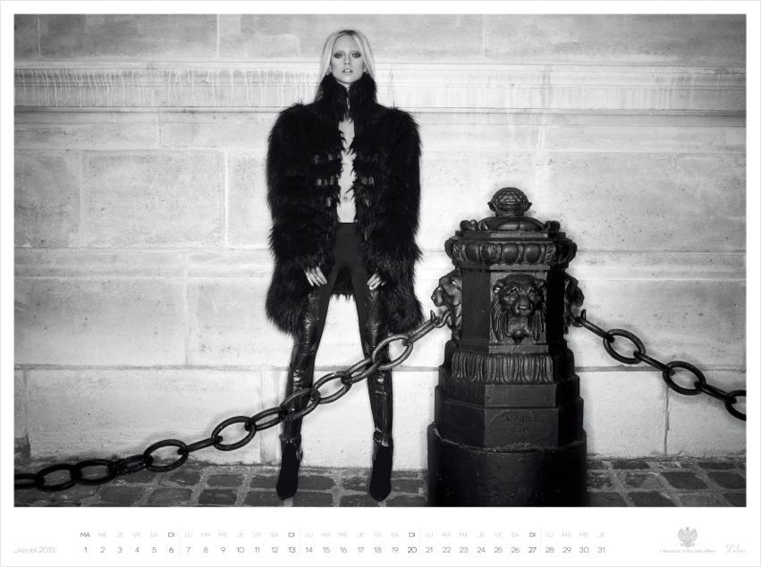 *Piotr Stoklosa 鍾情洛可可:拍攝系列 2013 Polish Embassy in Paris年曆! 6