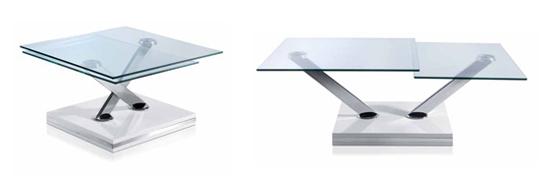 Mesas de centro con estilo.