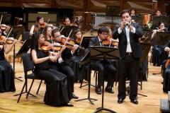 El trompetista Gustavo Merlo fue uno de los 13 participantes del Festival de Solistas de la SJTCV