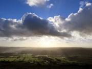 Moody Sky Over Castleton
