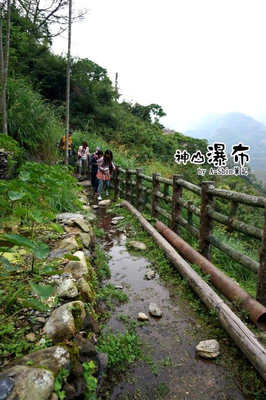 神山瀑布可以練輕功水上漂