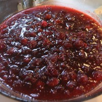 Thanksgiving: Cranberry Sauce