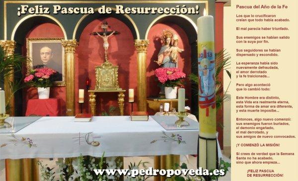 HAZ CLICK PARA AMPLIAR la Felicitación de la Pascua de Resurrección