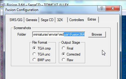 Definindo o local em que o Fusion salva os screenshots
