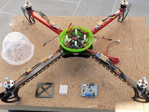 Quadcopter HobbyKing X550 (3/6)