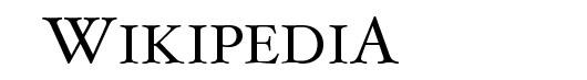 Hoefler Text font logo Wikipedia