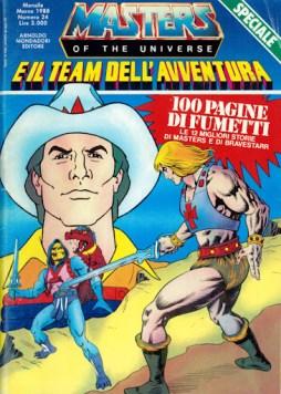 Masters e il team dell'avventura 24 cover