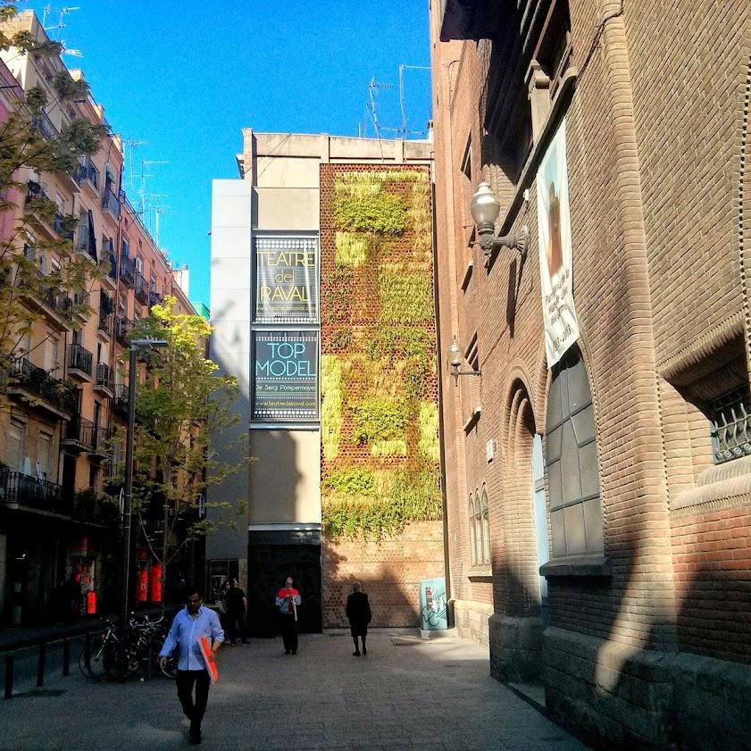jardines verticales en Barcelona