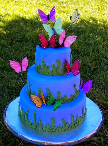 30 Best Butterfly Birthday Cakes Ideas And Designs   iBirthdayCake Butterfly Birthday Cakes