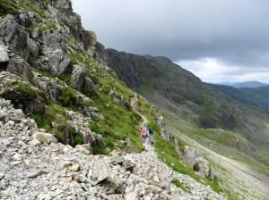 The Climbers Traverse - Bowfell