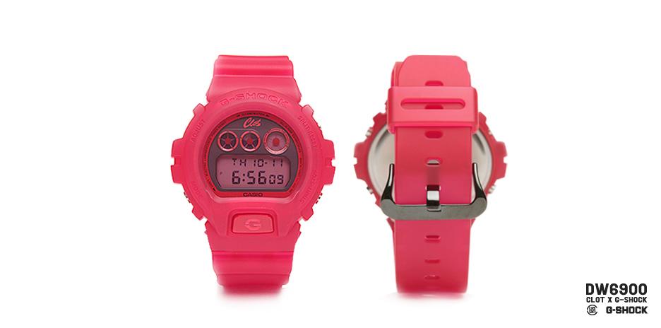 *CLOT 8週年第一擊:CASIO G-Shock x CLOT紅色橡膠錶! 4