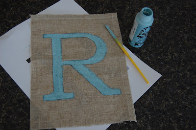 make your own monogram art