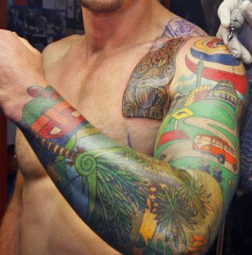 Full Sleeve Tattoos