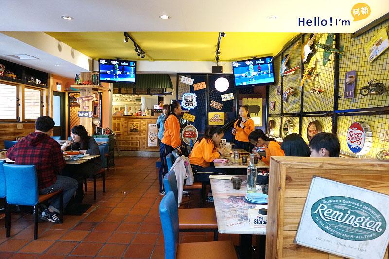 勤美誠品綠園道,美式餐廳,Hot Shock哈燒庫美式休閒餐廳-8