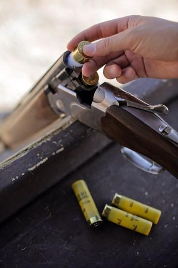 Skeet Shooting Las Vegas Gun Range.