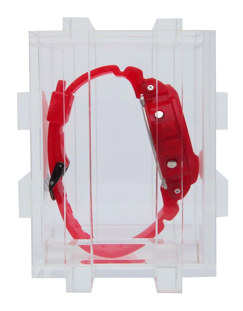 *CLOT 8週年第一擊:CASIO G-Shock x CLOT紅色橡膠錶! 6