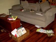 living reading room