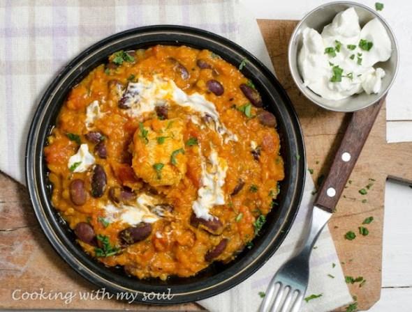 Curry de fasole rosie si linte