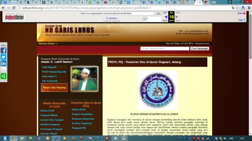 Profil Ponpes Ilmu Qur'an Malang
