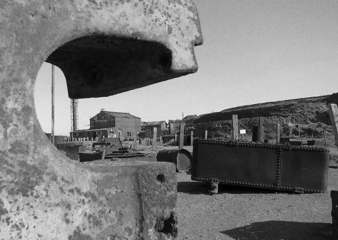 The abandoned nitrate mine in Humberstone