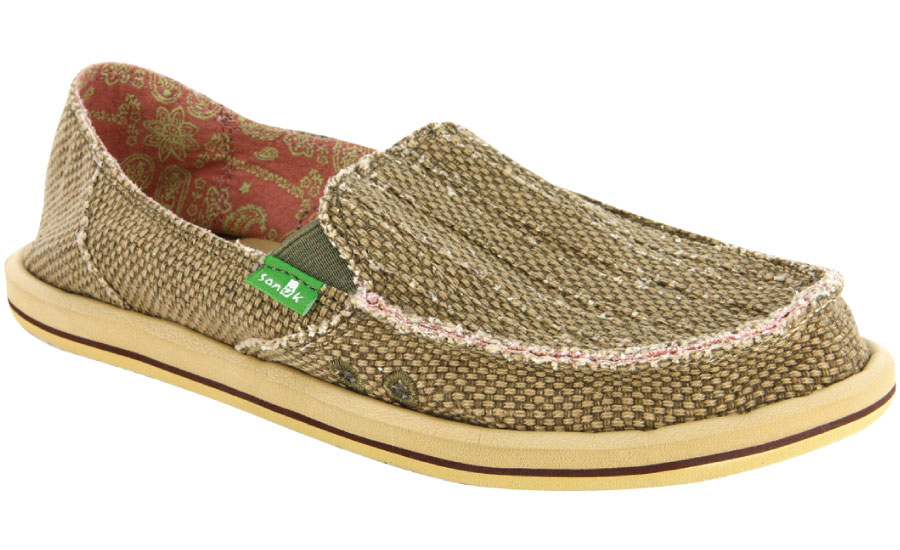 *SANUK 麻布直條鞋:變形蟲藏在細節裡! 3