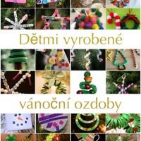 Ozdoby na vánoční stromeček - 24 nápadů na vánoční tvoření s dětmi
