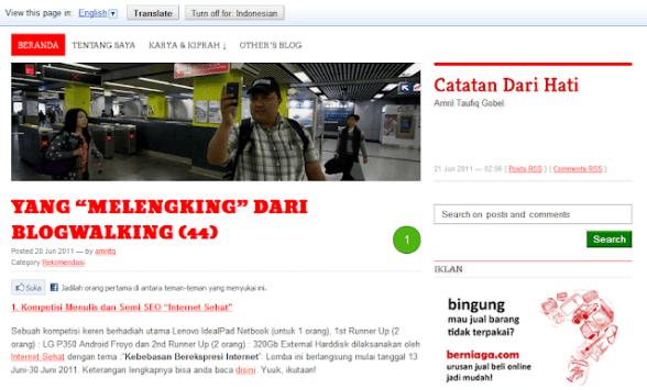 Blog Daeng Battala