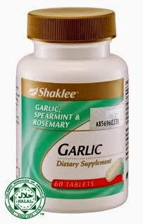 Garlic complex shaklee untuk kulit cantik