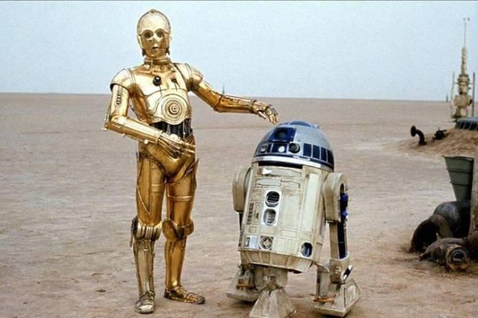 C3PO y R2D2, la extraña pareja