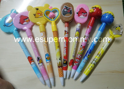 gift suggestion angry birds ballpen
