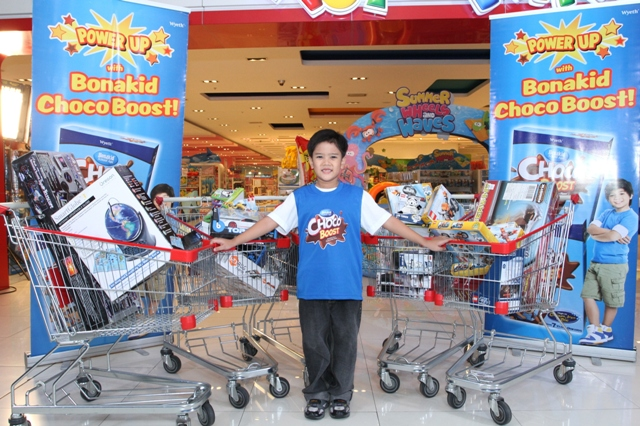 Bonakid Choco Boost Shopping Adventure winner