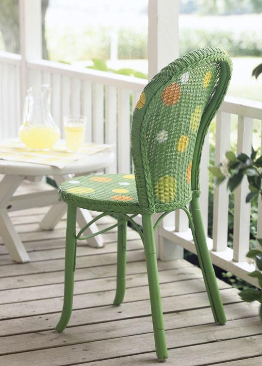 C mo pintar sillas de mimbre - Sillas para pintar ...