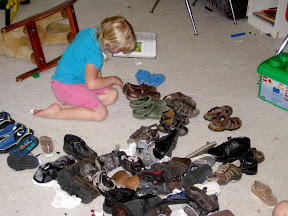 sorting shoes