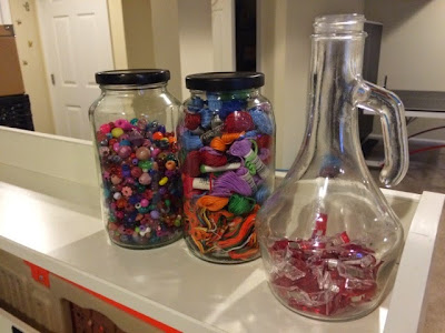 How to make your own storage containers by upcycling jars.