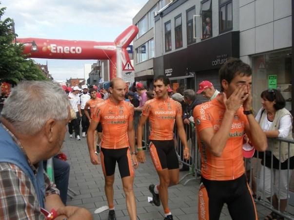 De renners van Euskatel-Euskadi