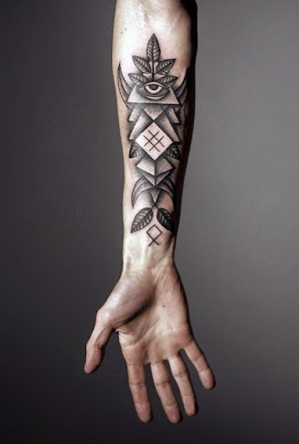 unique tattoos for men on hand
